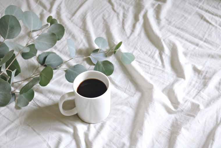 ceramic mug with coffee